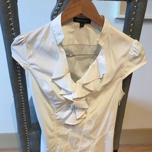 Express white dress shirt-size 2 or small